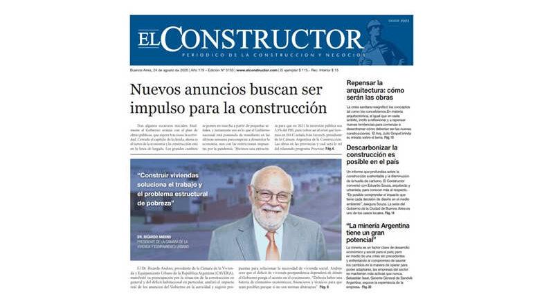 Reportaje al Dr. Ricardo D. Andino, presidente de CAVERA